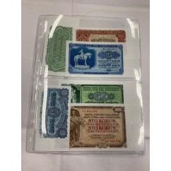 Set bankovek 1953